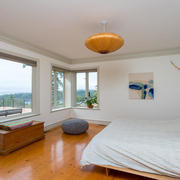 master bedroom with full views